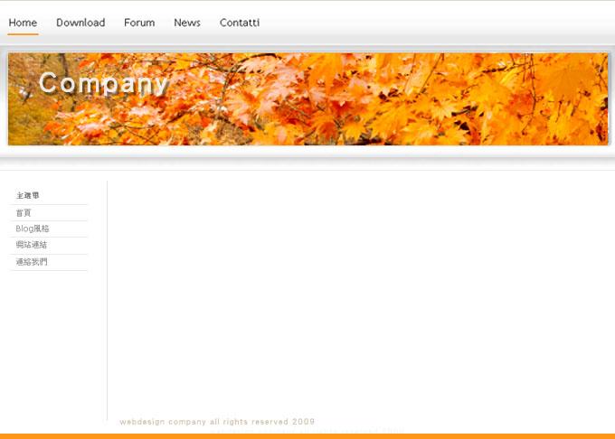 網頁設計-金光閃耀
